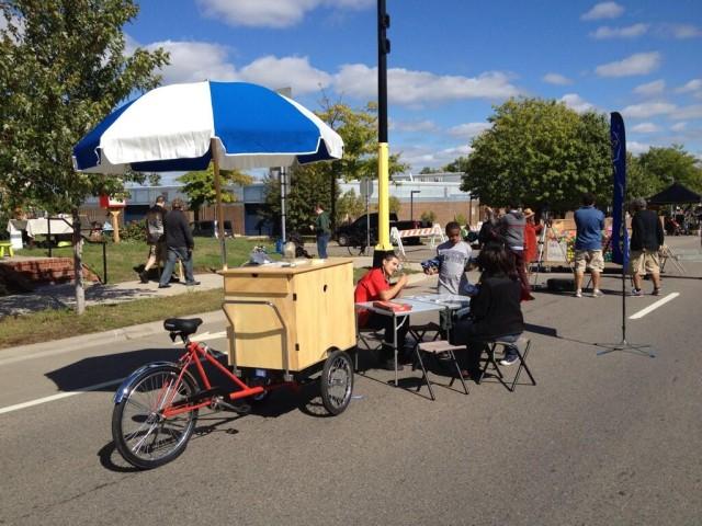 Neighborhood Engagement Cart