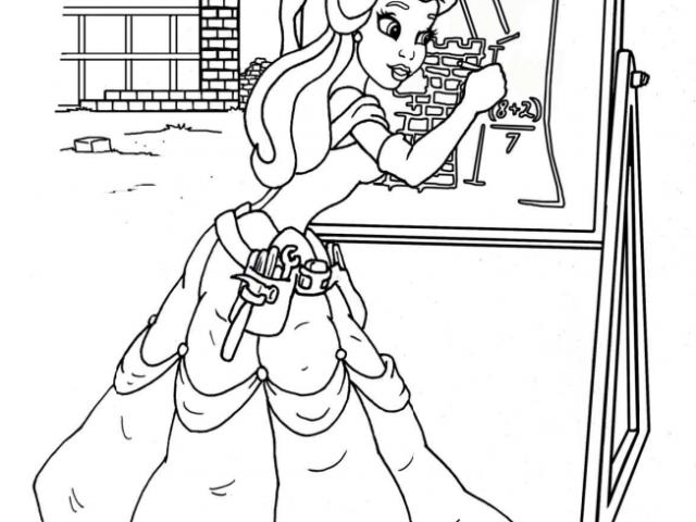 A Real Princess Coloring Book